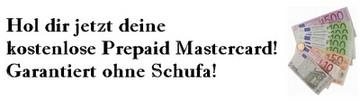 Thumbnail Prepaid Mastercard Black ohne Schufa garantiert GRATIS
