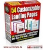 Thumbnail 54 Landing Page Templates + Master Resell Rights