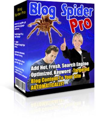 Pay for Blog Spider Pro - Auto Blog Creator Script