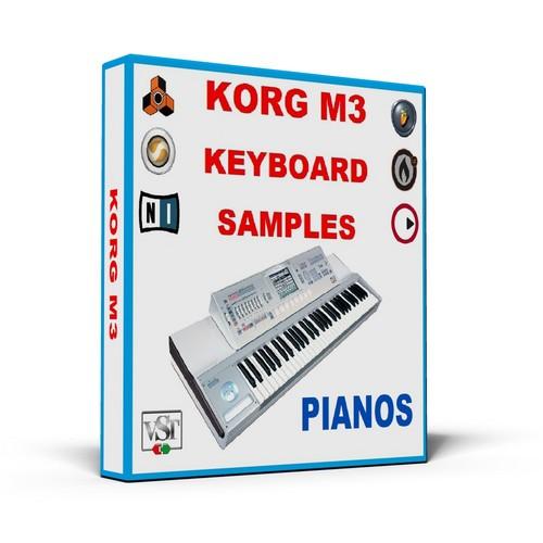 KORG M3 KEYBOARD SAMPLES * PIANOS * MULTI FORMAT