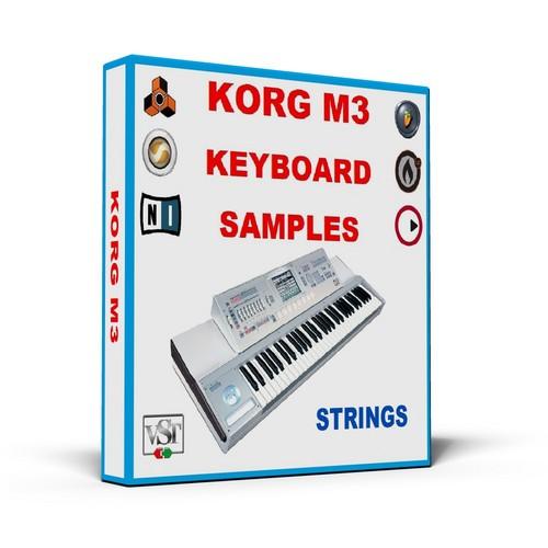 Pay for KORG M3 KEYBOARD SAMPLES * STRINGS * MULTI FORMAT