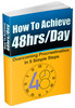Thumbnail How To Achieve 48hrs/Day