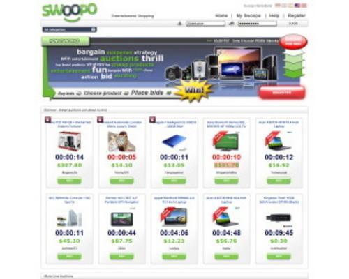 Pay for Swoopo / Telebid Clone Script