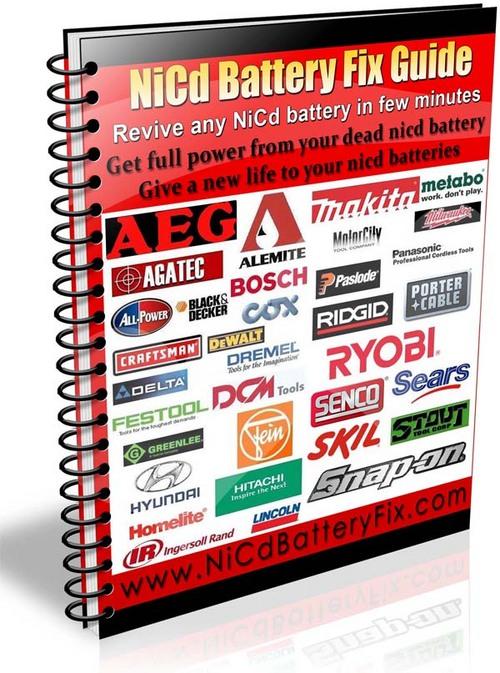 Pay for Makita NiCd Battery Repair Guide Rebuild Makita Battery