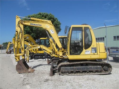 Pay for Komatsu PC95R-2 manual collection. Shop and O&M manual