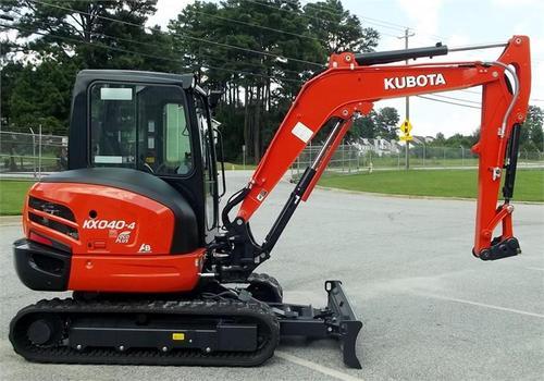 Kubota Kx040-4 Operators Manual