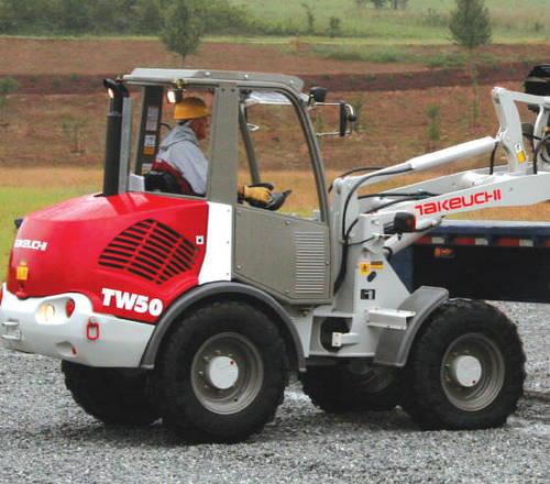 Pay for Takeuchi TW50 parts manuals