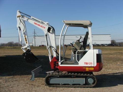 Pay for Takeuchi TB125 operators manual
