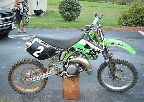 Pay for Kawasaki KX125 KX250 KX500 service and owners manual. 1997.