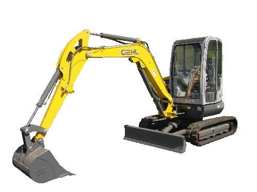 Pay for Gehl 383Z excavator parts manual. Edition 2008