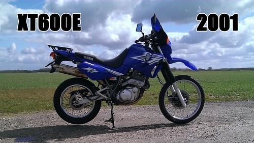 Pay for Yamaha XT600E parts manual. Edition 2001