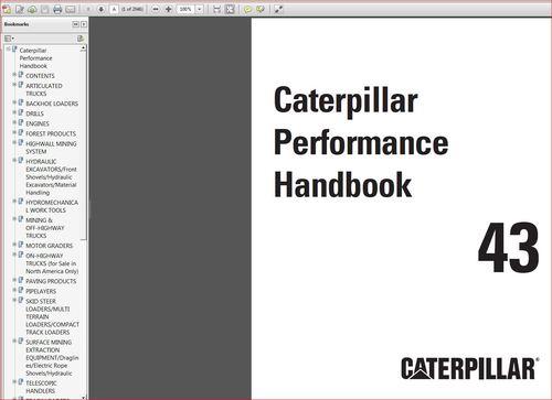 cat performance handbook
