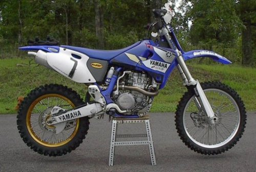 Pay for Yamaha YZ426F 2001 service manual and parts book