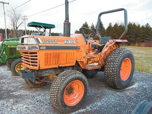 Replacement Parts For L2550 Kubota Tractor : Free kubota l tractor operators