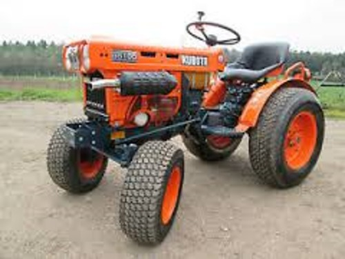 Free Kubota B5100D-P parts manual Download thumbnail