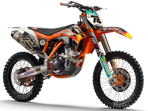 Pay for KTM 350SX-F owners manual. 2012