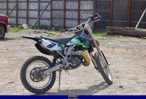 Pay for Kawasaki KX125-M3 2005. Shop, parts & owners manual.