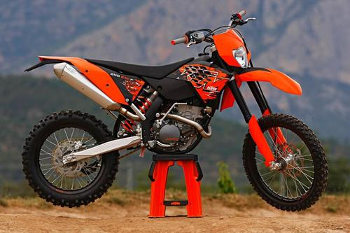 Pay for KTM 250EXC-F repair manual. 2005 to 2010