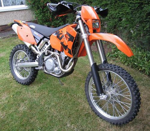 Pay for KTM 250EXC,400EXC,450SX,525SX (F) owners manual