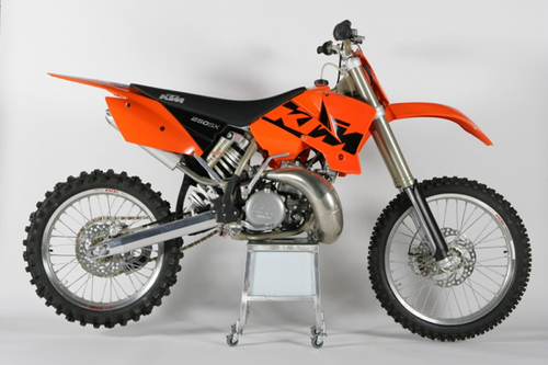 Pay for KTM 250SX owners handbook 2003