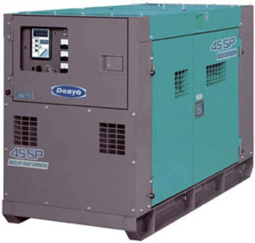 Pay for Denyo DCA-45SPI diesel generating set instruction manual