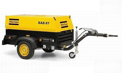 Atlas Copco Xas67 Compressor Instruction Manual