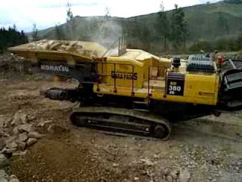 Pay for Komatsu BR380JG-1 crusher shop manual and engine shop manual