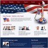 Thumbnail Independant Politicia website template, 5 pages easy to edit