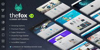 Thumbnail TheFox v1.32 -2015 Responsive Multi-Purpose WordPress Theme/