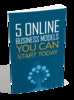 Thumbnail 5 Online Business Models You Can Start Today