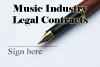 Thumbnail Music Business Legal Contracts