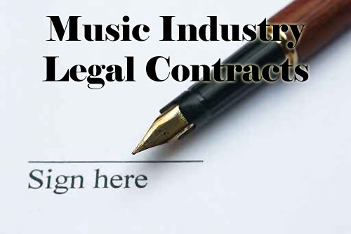 Pay for Music Business Legal Contracts