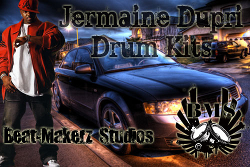 Pay for Jermaine Dupri Drum Kits