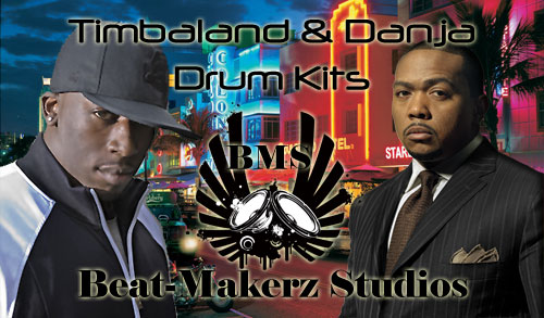 Pay for Timbaland & Danja Drum Kits
