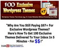Thumbnail 100 Exclusive Wordpress Themes V7 MRR!