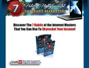 Thumbnail THE 7 HABITS OF HIGHLY SUCCESSFUL INTERNET MARKETERS MRR!