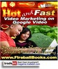 Thumbnail Video Marketing On Google Video RR!