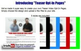 Thumbnail Teaser Opt-In Pages Unrestricted PLR!