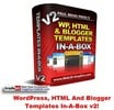 Thumbnail WordPress, HTML And Blogger Templates In-A-Box v2 MRR!