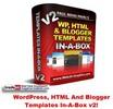 Thumbnail WordPress, HTML And Blogger Templates In-A-Box v2 MRR!