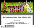 Thumbnail Holiday Clipart Collection PLR!