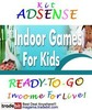 Thumbnail Adsense Kit Ready To Go - Indoor Kids Games - Personal Use!