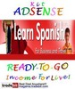Thumbnail Adsense Kit Ready To Go - Learn Spanish - Personal Use!