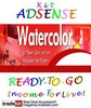 Thumbnail Adsense Kit Ready To Go - Watercolor - Personal Use!