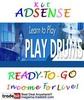 Thumbnail Adsense Kit Ready To Go - Play Drums - Personal Use!