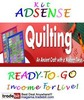 Thumbnail Adsense Kit Ready To Go - Quilting - Personal Use!