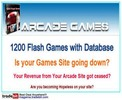 Thumbnail 1200 Flash Games with Database Package RR!