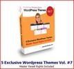 Thumbnail 5 Exclusive Wordpress Themes Vol 7 MRR