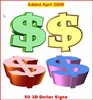 Thumbnail 50 3D Dollar Signs MRR!