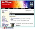 Thumbnail iPad Video Site Adsense ClickBank Amazon MRR!